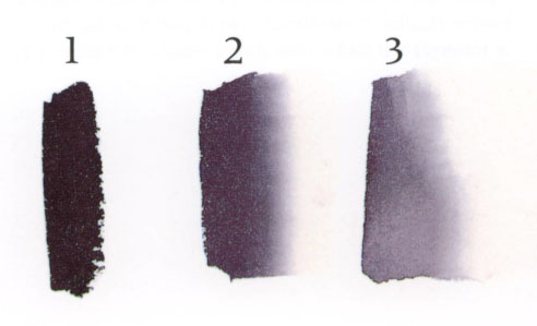 How to blend a transition line using watercolors.