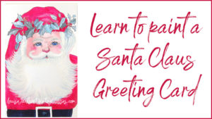 Learn to paint a Santa Claus Christmas card in this video tutorial.