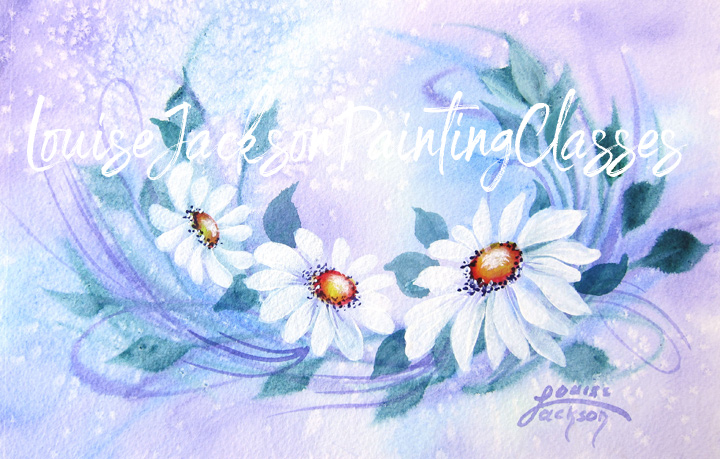 Learn how to paint this pretty daisy painting using acrylic paints with watercolor techniques.