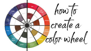 how to create a color wheel using watercolors featured image