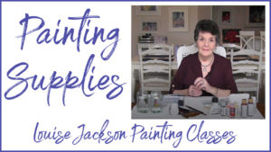 Painting Supplies needed for watercolor or acrylic painting